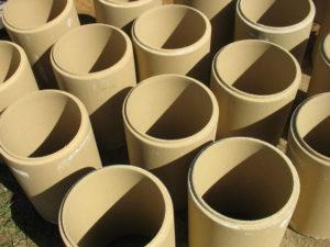 керамические трубы дымоходов из глины