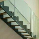 лестничные стеклянные ограждения кронекс фото