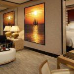 стеклянное панно в комнате фото