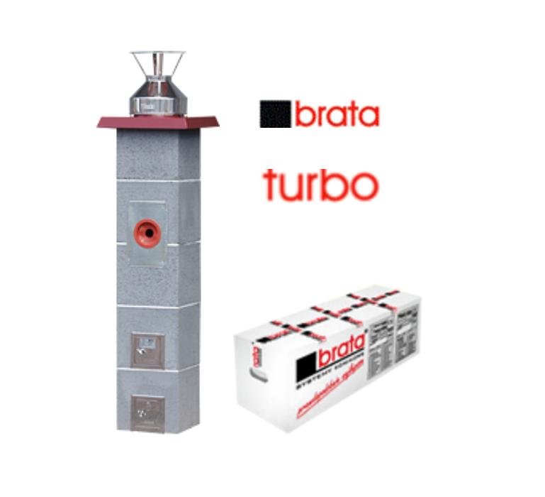 Керамический дымоход Turbo