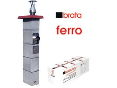 металлический дымоход brata ferro