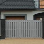 откатные металлические ворота