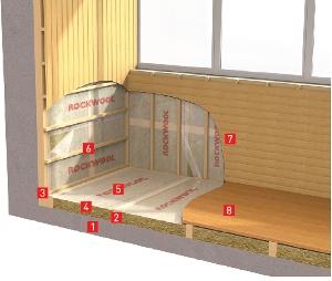 утеплитель для балкона
